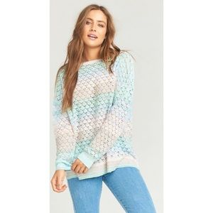 NWT Show Me Your Mumu Pie in the Sky Sweater